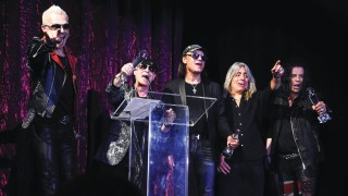 SCORPIONS LIFETIME ACHIEVEMENT VEGAS ROCKS! AWARD